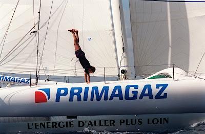 Laurent Bourgnon et Primagaz, vainqueurs de la Route du Rhum.