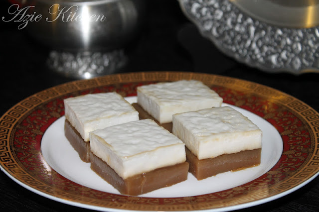 Kuih Talam Gula Merah