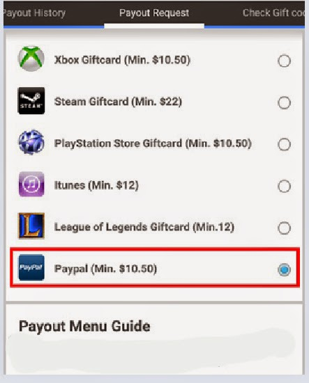 payout whaff ke paypal