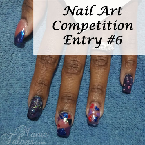 GCI Valentine's Day Nail Art Competition Entry 6