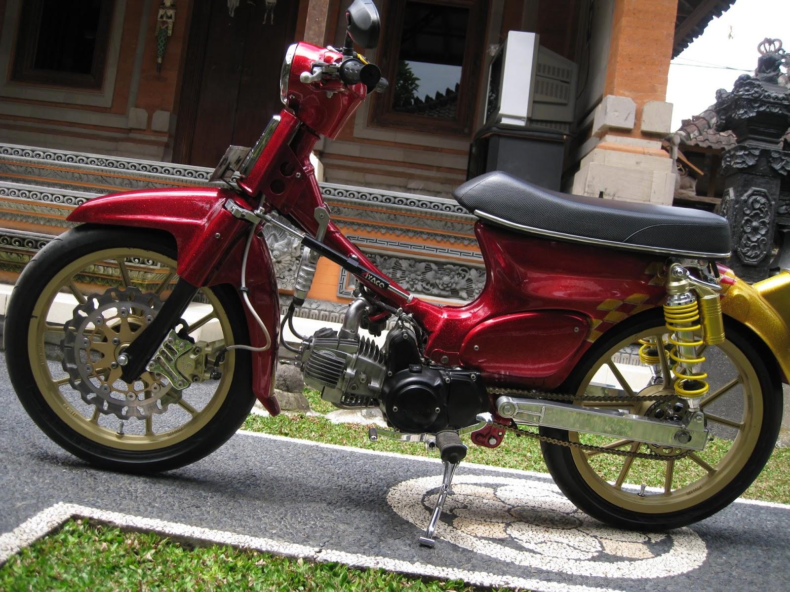 Blog Modifikasi Gambar Motor Honda C70 Klasik