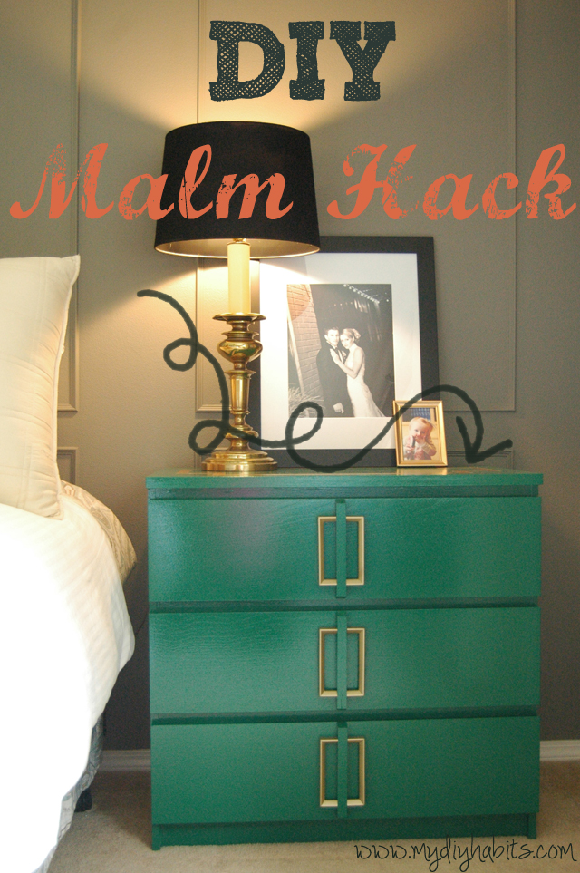 Bedside Table Ikea Hack