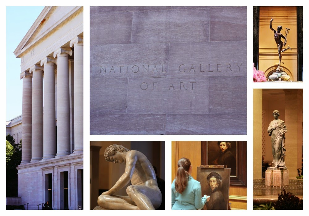 National Gallery of Art Collage
