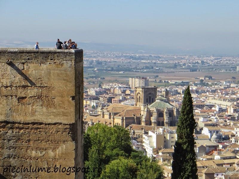 Catedrala din Granada vazuta de sus