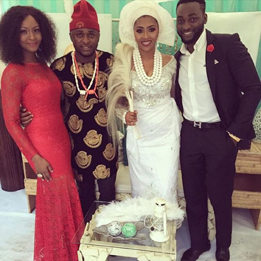 Lilian Esoro and Ubi wedding photos