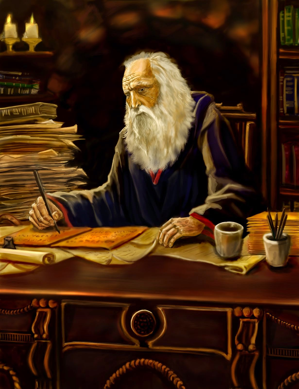The Prophet Araneck