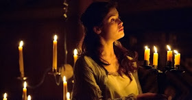 Gemma Arterton as the Duchess of Malfi at the Sam Wanamaker Playhouse at the Globe