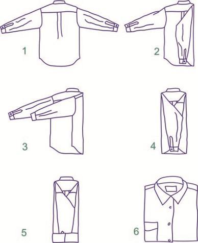 El blog de lorenna truco para planchar una camisa - Truco para doblar camisetas ...