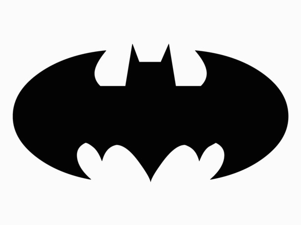 Sly image throughout batman symbol printable