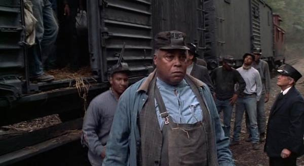 James Earl Jones in Matewan