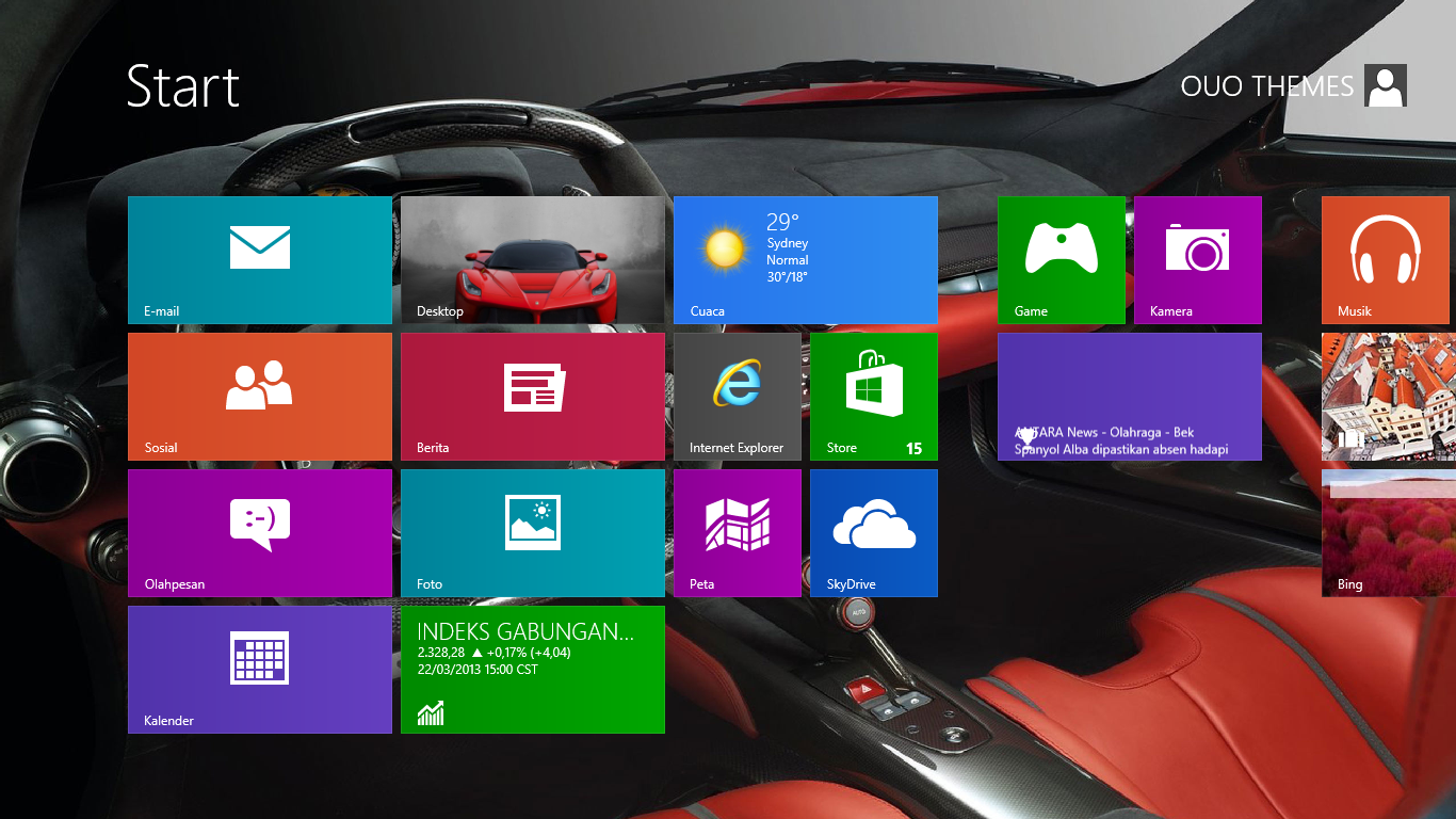 Will this be Windows 8 Theme