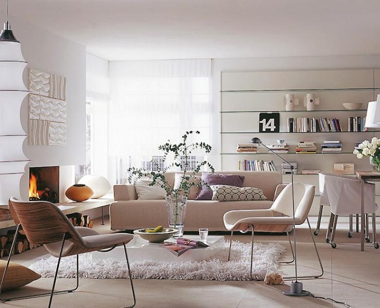 design : wohnzimmer weiß einrichten ~ inspirierende bilder von, Deko ideen