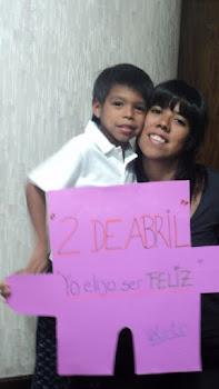 "2 de abril 2011: ""Yo eligo ser feliz"""