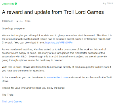 Troll Lords Stepping In.....