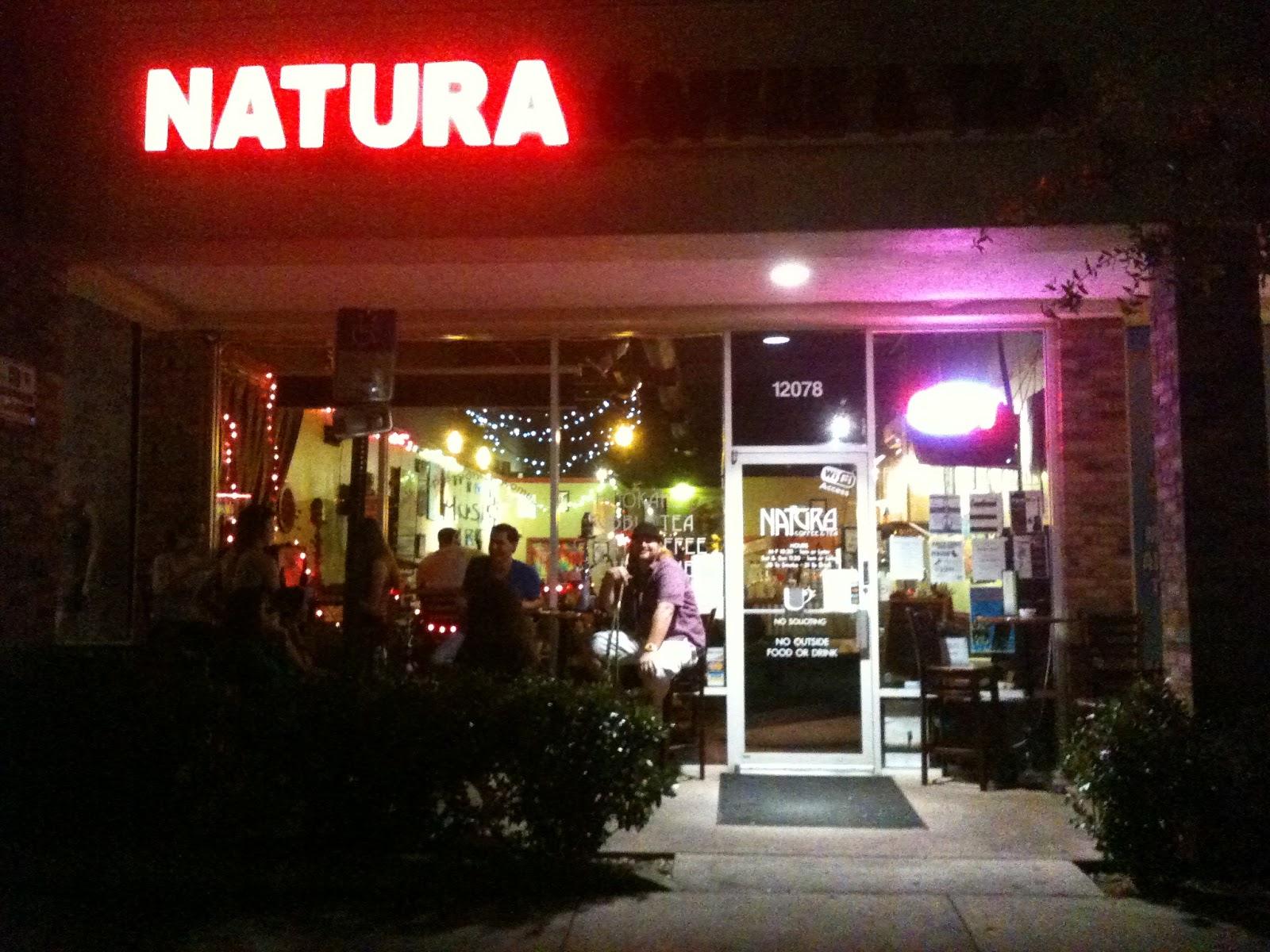 Sunday Open Mics Natura Coffee & Tea and Austin s Coffee &