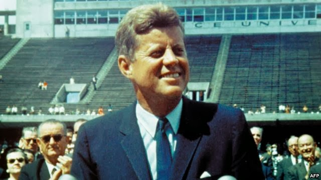 the communication skills of president john f kennedy in his speech we go to the moon Best of our energies and skills, because that challenge is one that we are  willing  president john f kennedy, september 12, 1962, at rice university,  houston, texas  there's more here than just a speech in a football stadium   as communication, navigation of ships at sea, and weather forecasting.