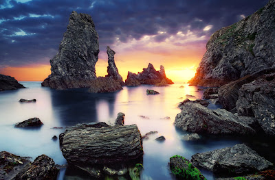 Paisaje fuera de este mundo Fantástico Landscape