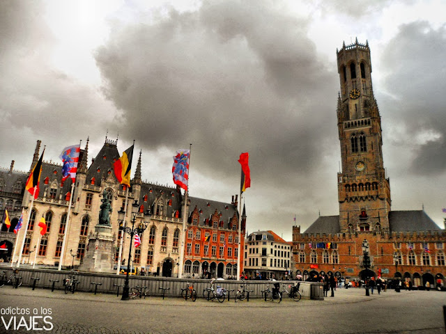 Plaza Mayor de Brujas