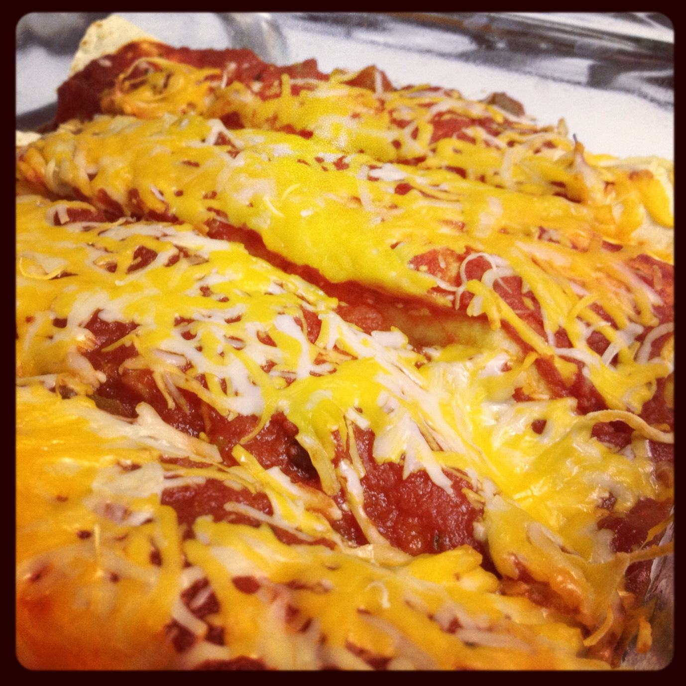 Chaos in the Condo: {Recipe} Turkey Enchiladas