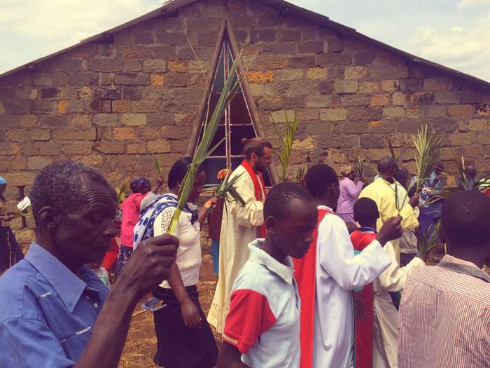 fra Miro Babić misija Afrika Kenija Cvjetnica Palm Sunday Mali dom