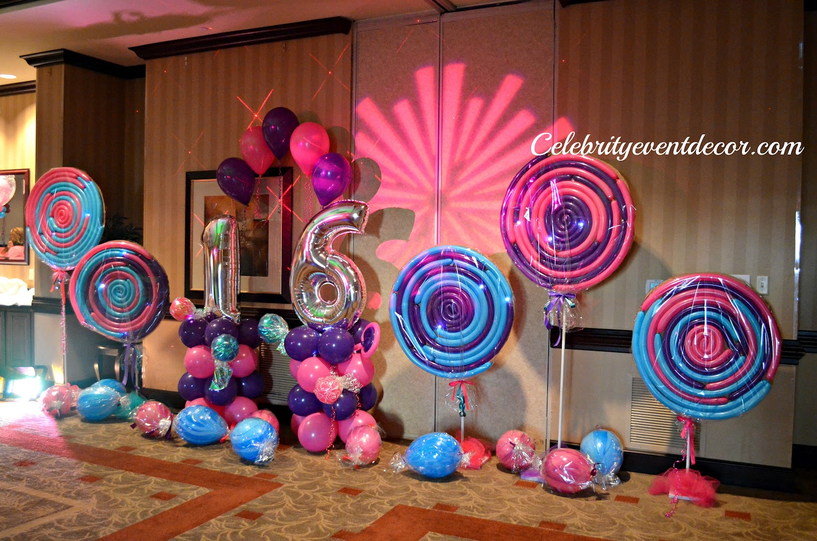 Candyland party them on pinterest candyland candy land for 16 birthday decoration