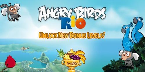 Angry Birds Rio 500x250