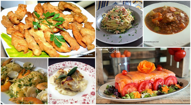 menu semanal ideas para menus