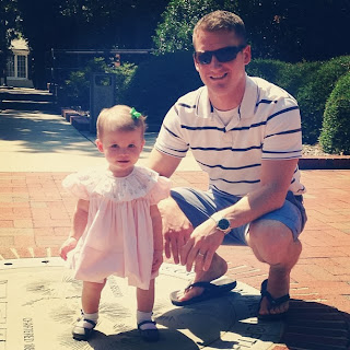 Maddie and Daddy in Southern Pines