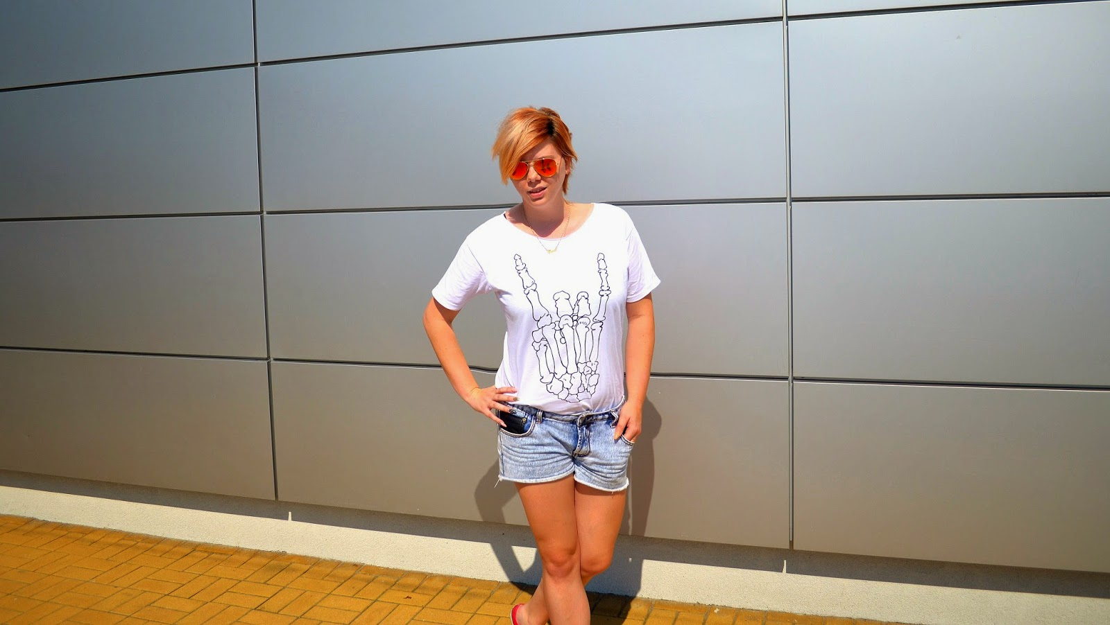 look of the day - DIY t-shirt
