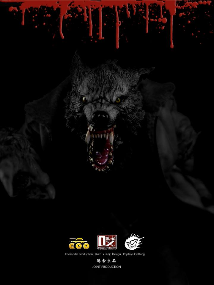 COOMODEL X OUZHIXIANG - Monster File Series - The Were Wolf E1