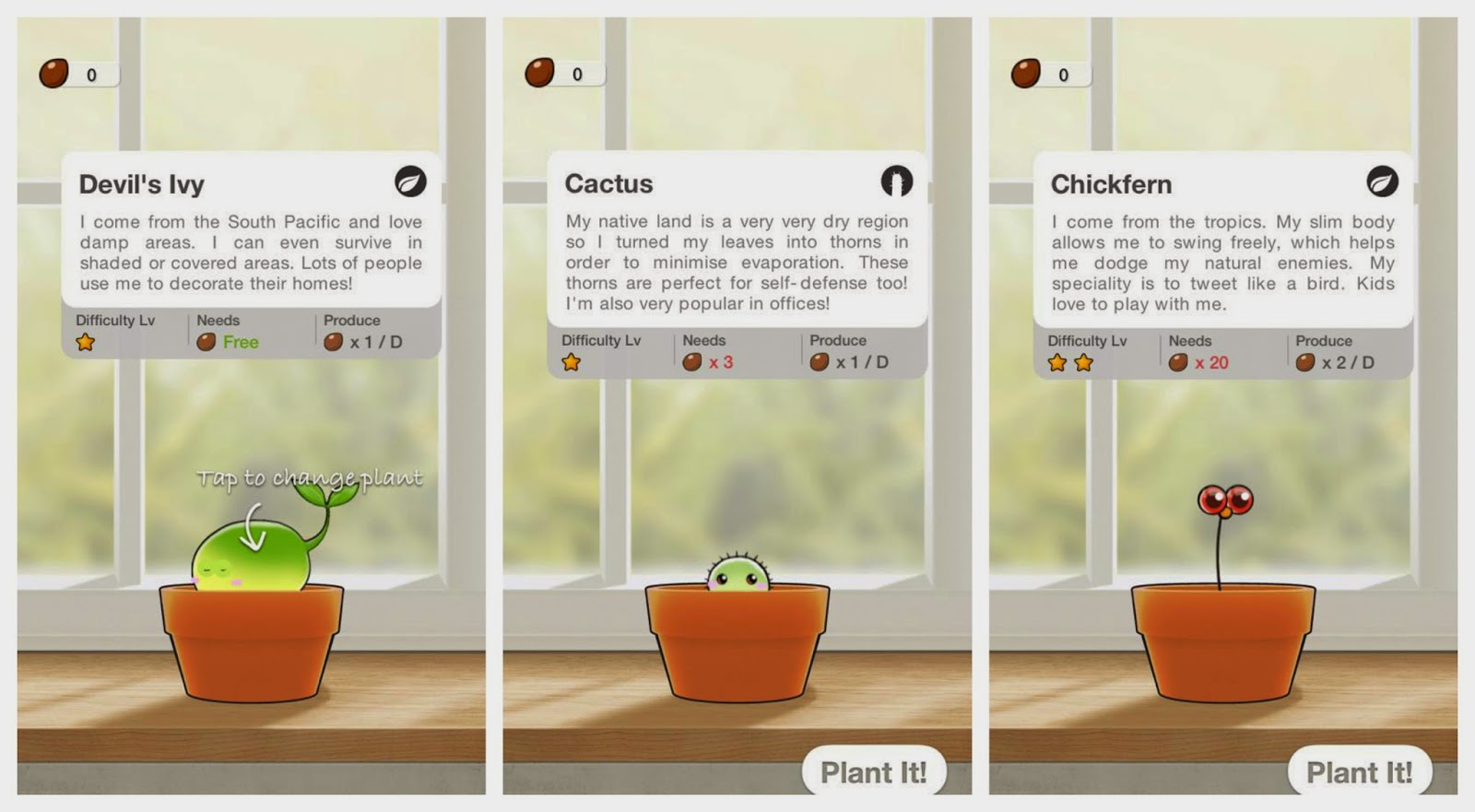 how to change glass plant nanny