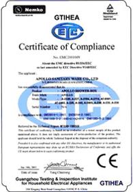 Сертификат  Европейского Союза безопасности продукции  Март 2001 г.