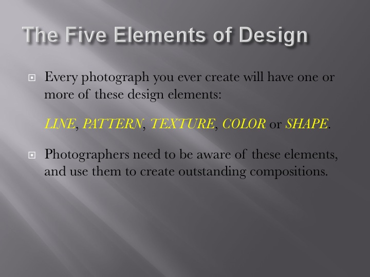 Elements Of Artistic Expression : Photo elements of art line shape media arts academy