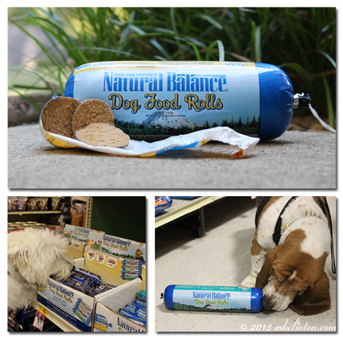 Natural Balance Dog Food Rolls collage