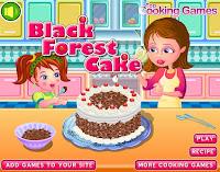 Permainan Memasak Kue Black Forest