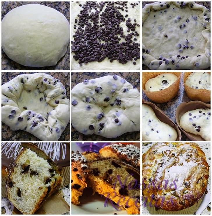 Receita tradicional de pão tipo Colomba Pascal