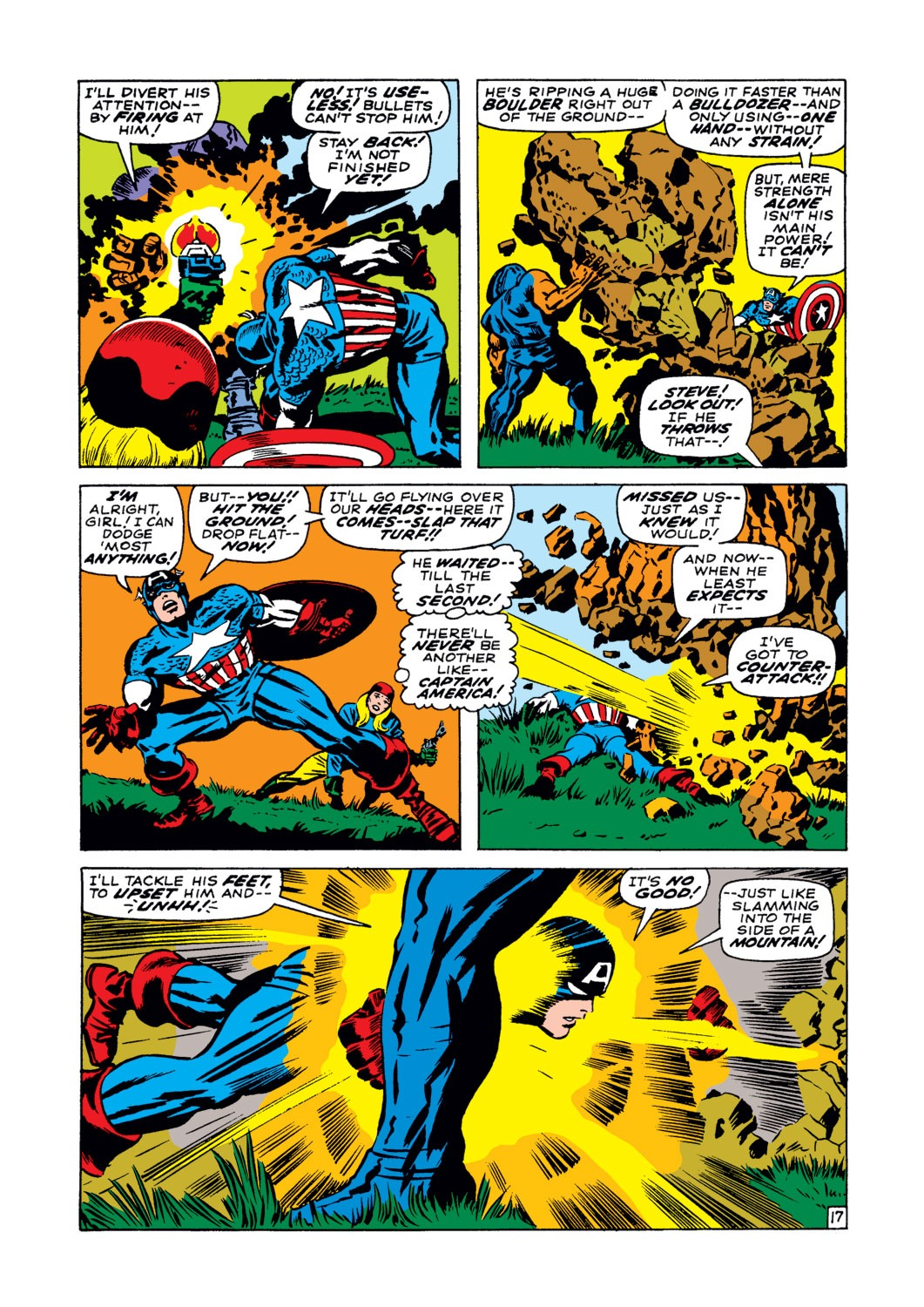 Captain America (1968) Issue #102 #16 - English 18