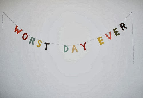 LETS PARTY ON OUR WORST DAY EVER