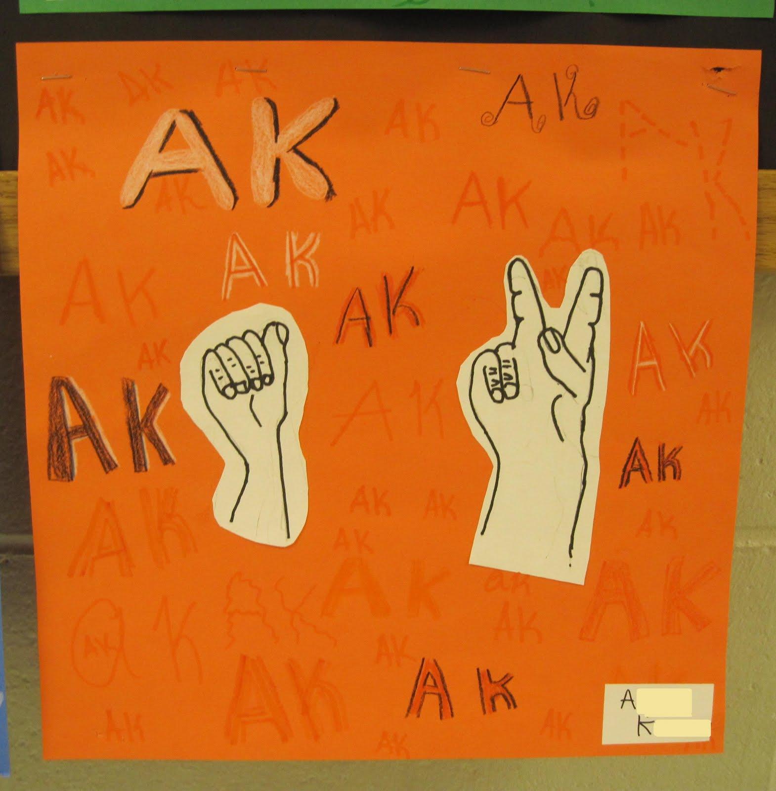 Language Arts Drawing Sign Language Drawings