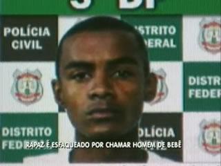 Laécio Ribeiro de Oliveira foi preso em flagrante (Foto: Reprodução/TV Record)