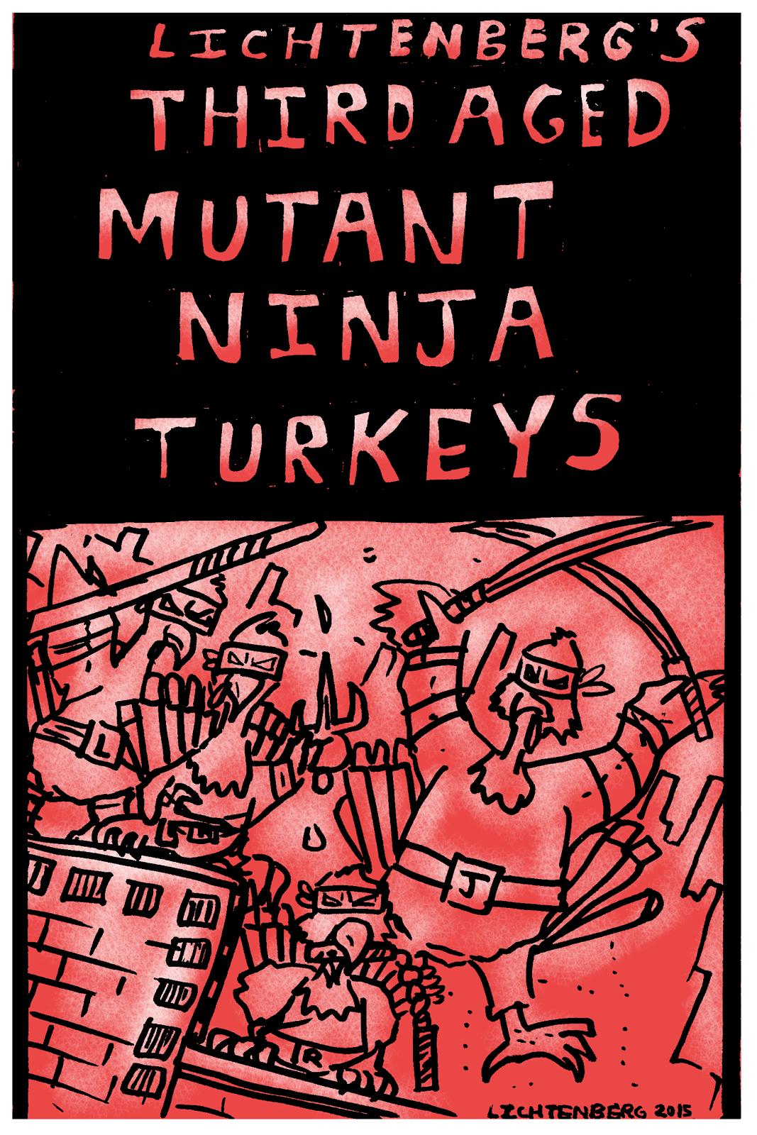 Third Aged Mutant Ninja Turkeys