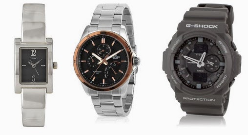 Enjoy Upto 30% + Flat 32% | 25% Extra Off on Casio Watches at Jabong