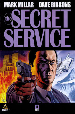 The Secret Service # 5 - Mark Millar Dave Gibbons - *NSFW*