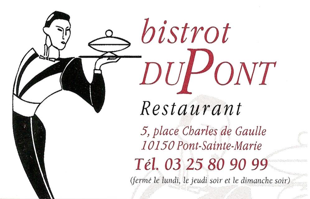 BISTROT DUPONT PARTENAIRES PRIVES depuis 2000