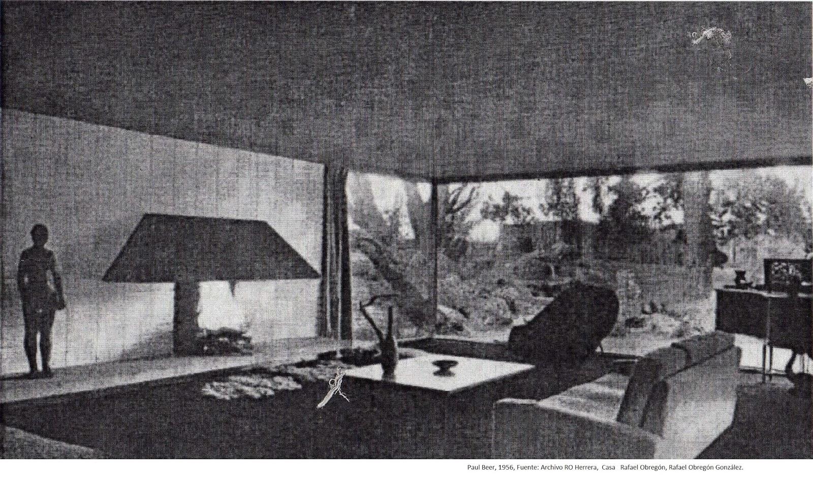 Historia de la arquitectura moderna casa obregon rafael for Inicios de la arquitectura