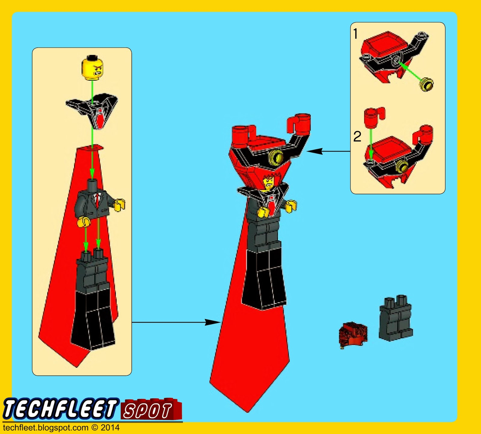 Techfleet Spot The Lego Movie Lord Business Build Instructions