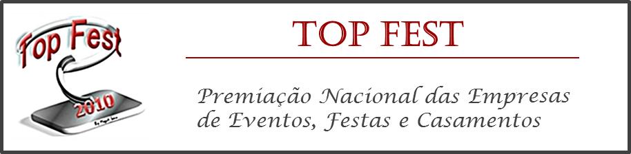 Premiação Top Fest