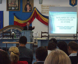 Aspecte din desfăşurarea consfătuirii profesorilor de istorie (8 sept. 2012)...
