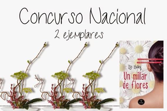 """Concurso Nacional """"Un millar de flores"""" 2 ejemplares"""