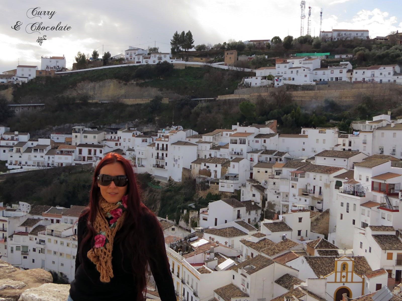 Vista de Setenil desde el mirador el Lizón
